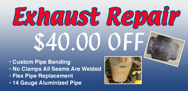 Exhaust Repair Coupon